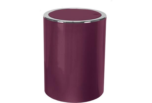 Kleine Wolke Kosmetikeimer Clap, Burgund 19x24,5x19/5 Liter