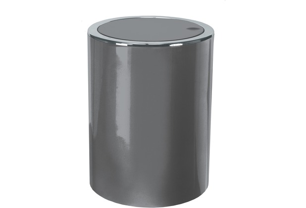 Kleine Wolke Kosmetikeimer Clap, Platin 5 Liter
