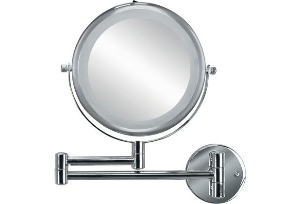 Kleine Wolke Kosmetikspiegel Brilliant Mirror, Silber 25 x 27 x 3,5 cm