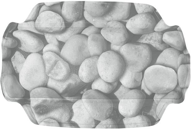 Kleine Wolke Nackenpolster Stepstone, Grau 32x 22 cm