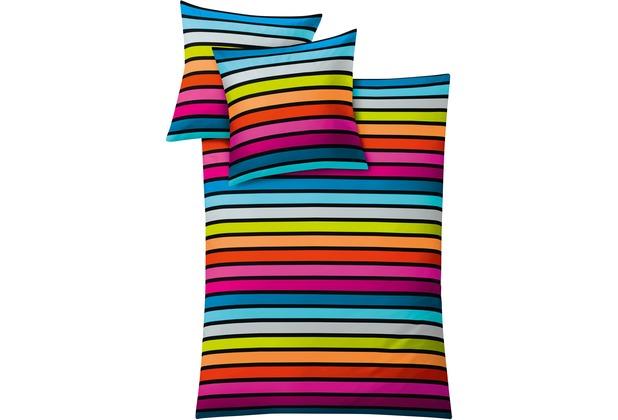 Kleine Wolke Bettwäsche Rimini, multicolor 135x200 / 80x80 cm