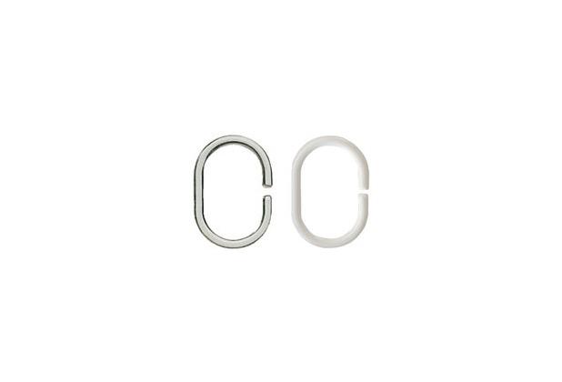 Kleine Wolke Ringe DV-Ringe, weiß 12 Stück/Packung