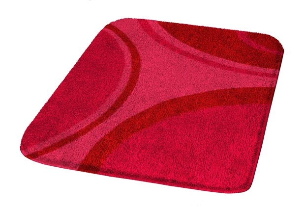 Kleine Wolke Badteppich Verona Rubin 50 cm x 65 cm