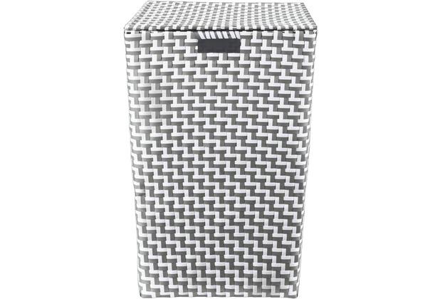 Kleine Wolke Wäschebox Double Laundry Box, Platin 35x55 cm