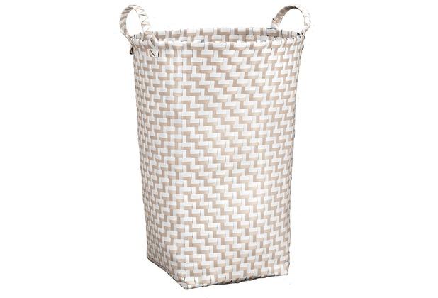 Kleine Wolke Wäschebox Double Laundry, Natur 35x50x35 cm