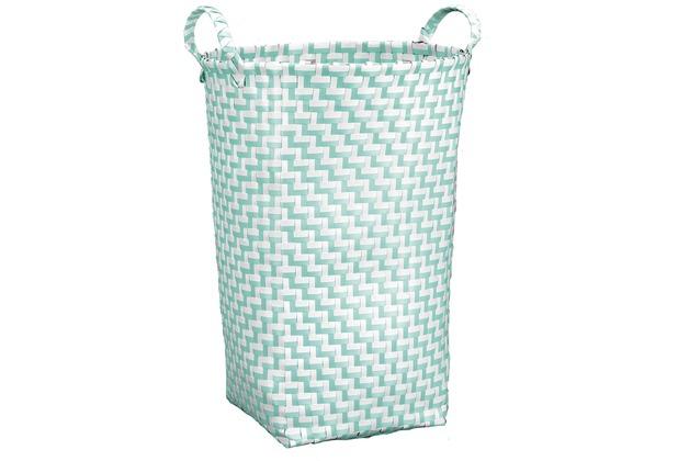 Kleine Wolke Wäschebox Double Laundry, Salbeigrün 35x50x35 cm