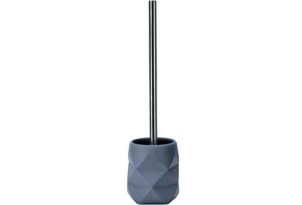 Kleine Wolke WC-Bürstenhalter Crackle Mare 10,6x39x10,6