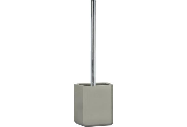 Kleine Wolke WC-Bürstenhalter Loft, Steingrau 10,4x36,0