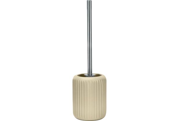 Kleine Wolke WC-Bürstenhalter Mallow, Sandbeige 11,8x43,0