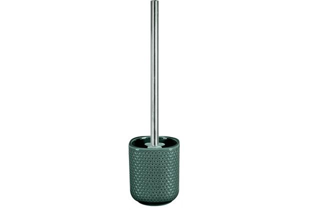 Kleine Wolke WC-Bürstenhalter Mila, Smaragd 10x40x10