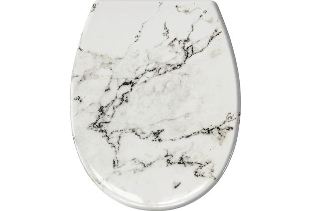 Kleine Wolke WC-Sitz Marble, Anthrazit 37 x 45 cm