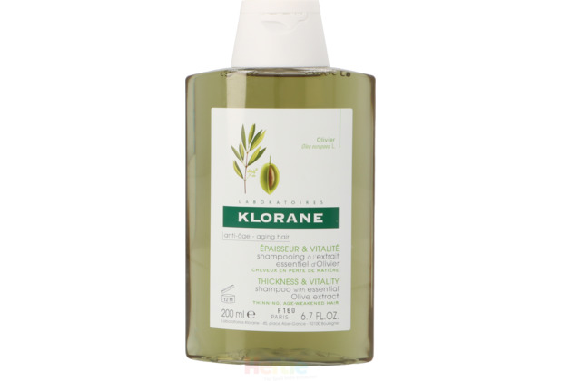 Klorane Shampoo With Essential Olive Extract Anti-Age 200 ml