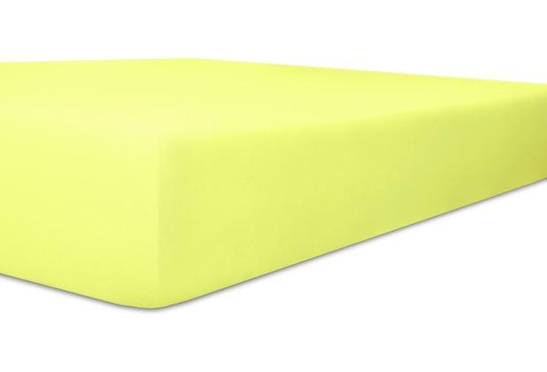 """Kneer Spannbettlaken Fein-Jersey \""""Qualität 50\"""" Farbe 97 lilie Stretch-Betttuch 120-130 cm x 200 cm"""