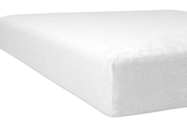 "Kneer Spannbettlaken Flausch-Frottee \""Qualität 10\"" Farbe 15 natur Bettlaken 150 x 250 cm"