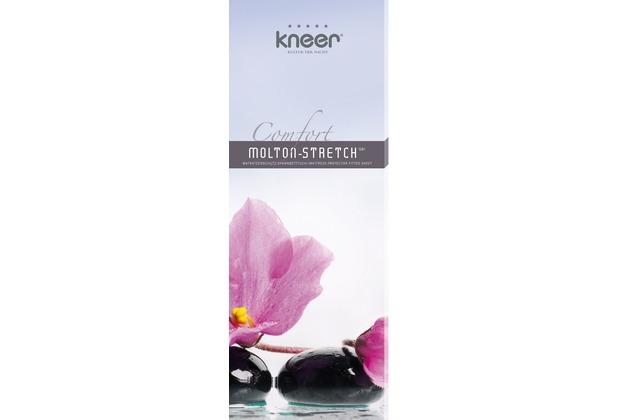 Kneer Qualität 81 Molton-Stretch 01 weiss Matratzenschutz 120/200/22 - 130/220/22 cm