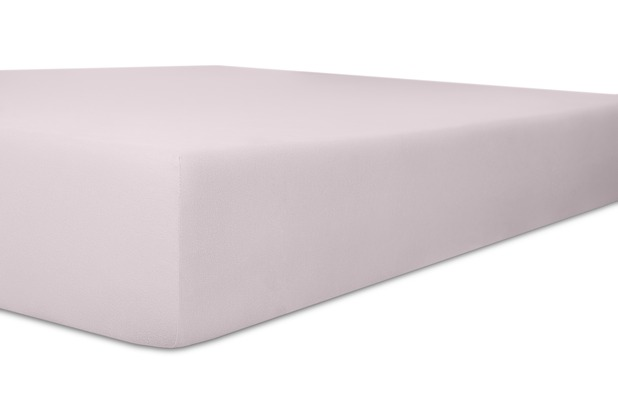 "Kneer Single-Jersey \""Qualität 60\"" Farbe 30 lavendel Spannbetttuch 140/200 - 160/200 cm"