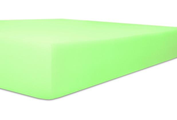 """Kneer Single-Jersey \""""Qualität 60\"""" Farbe 95 minze Spannbetttuch 140/200 - 160/200 cm"""