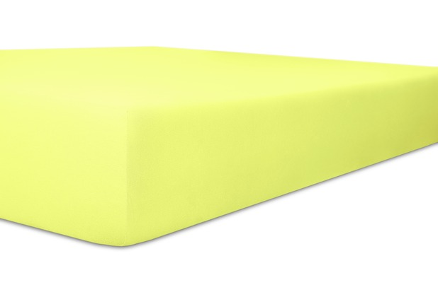 """Kneer Spannbetttuch Jersey \""""Qualität 20\"""" Farbe für Tempur 97 lilie Millenium M - XL mit Rundumgummi"""