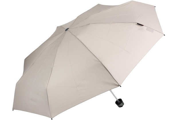 Knirps T.010 small manual Taschenschirm 18 cm taupe UV Protection