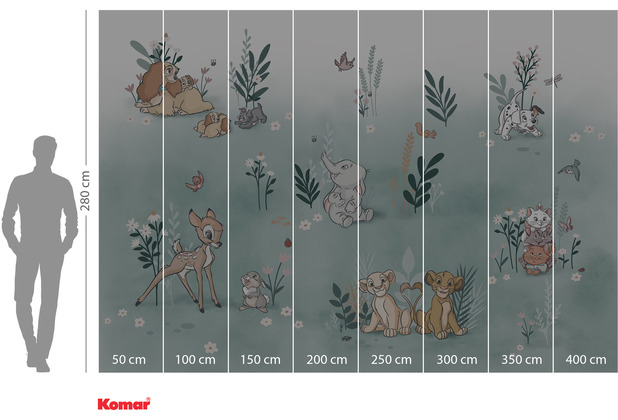 Komar Adventure Before the Bloom 400 x 280 cm
