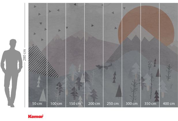 Komar Adventure Fox Journey 400 x 280 cm