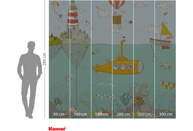 Komar Adventure Sealife 300 x 280 cm