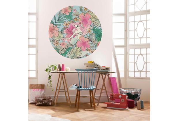 Komar  Ariel Ocean Flowers 125 x 125 cm
