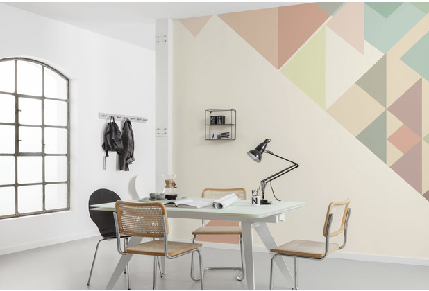 "Komar Bauhaus Vlies Fototapete \""Delta\"" 400 x 280 cm"