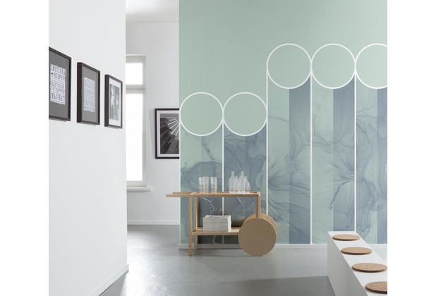 "Komar Bauhaus Vlies Fototapete \""Spots\"" 300 x 280 cm"