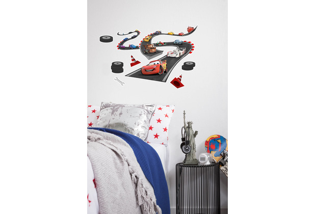 "Komar Deco-Sticker\"" Cars Track\"" 50 x 70 cm"