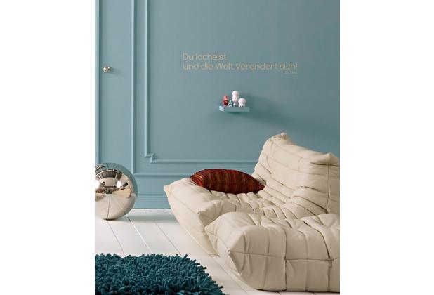 Komar Deco-Sticker Du lächelst 70 x 14 cm