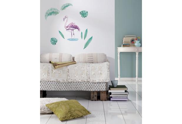 """Komar Deco-Sticker \""""Flamingo\"""" 50 x 70 cm"""