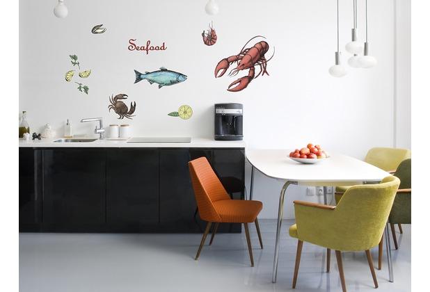 "Komar Deco-Sticker \""Seafood\"" 50 x 70 cm"