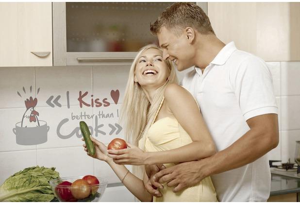 Komar Decosticker I kiss better than….