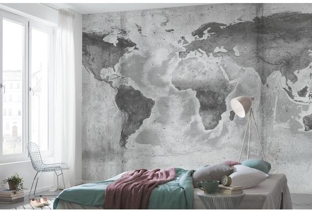 """Komar Digitaldruck Fototapete auf Vlies \""""Concrete World\"""" 500 x 250 cm"""
