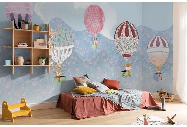 """Komar Digitaldruck Fototapete auf Vlies \""""Happy Balloon\"""" 500 x 250 cm"""