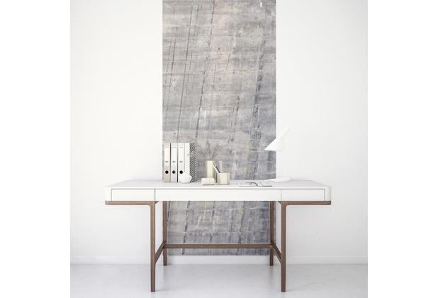 "Komar Digitaldruck Fototapete auf Vlies\""Concrete Panel\"" 100 x 250 cm"