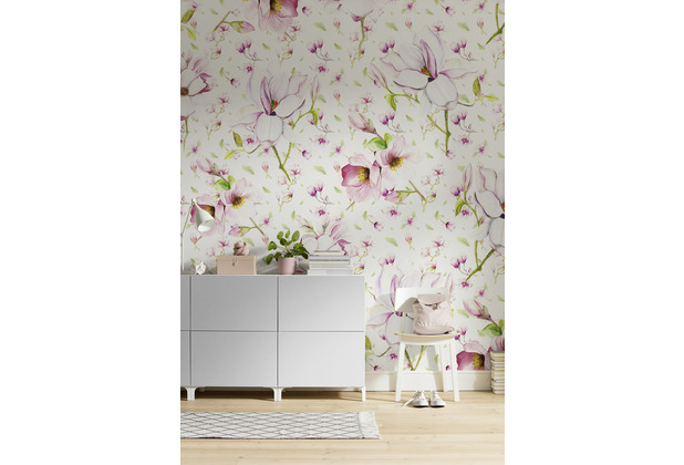 "Komar Digitaldruck Fototapete auf Vlies\""Magnolia\"" 200 x 250 cm"