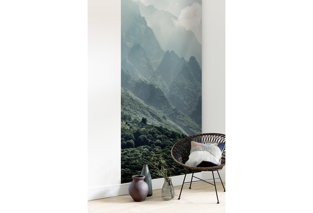 "Komar Digitaldruck Fototapete auf Vlies\""The Summit Panel\"" 100 x 250 cm"