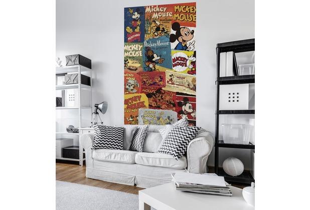 "Komar Digitaldruck Vlies Panel \""Mickey - Billboard\"" 120 x 200 cm"