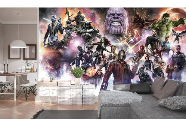 """Komar Digitaldruck Vliestapete \""""Avengers Infinity War - Final Round\"""" 400 x 250 cm"""