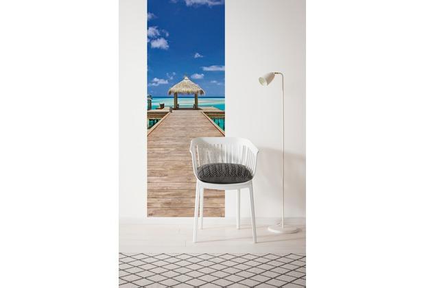 "Komar Digitaldruck Vliestapete \""Beach Resort\"" 100 x 280 cm"
