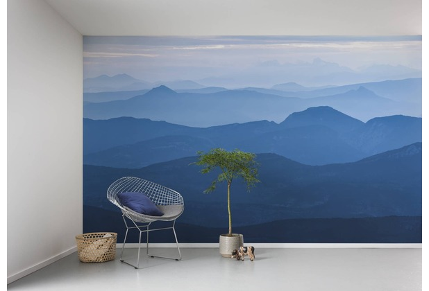 "Komar Digitaldruck Vliestapete ""Blue Mountain\"" 400 x 250 cm"