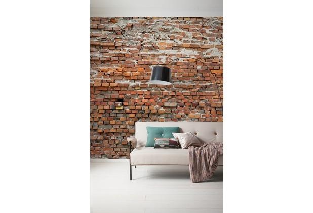 "Komar Digitaldruck Vliestapete \""Bricklane\"" 300 x 250 cm"
