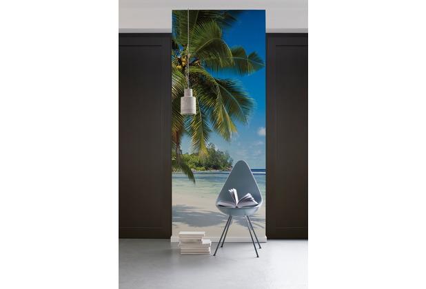 "Komar Digitaldruck Vliestapete \""Coconut Bay\"" 100 x 280 cm"
