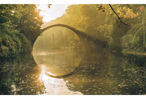 "Komar Digitaldruck Vliestapete \""Devil\'s Bridge\"" 400 x 250 cm"