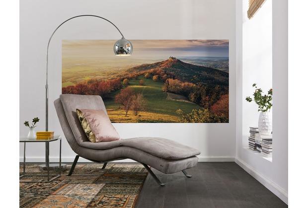 """Komar Digitaldruck Vliestapete \""""Fairy Tale Castle\"""" 200 x 100 cm"""