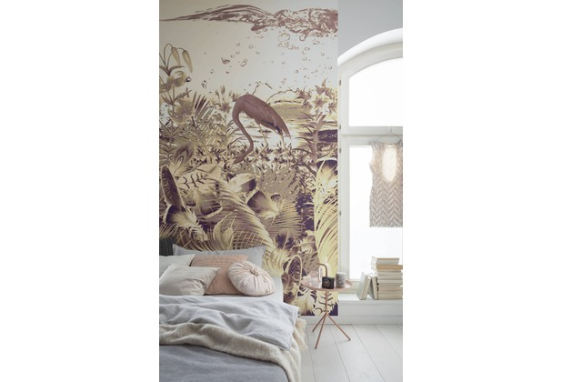 "Komar Digitaldruck Vliestapete \""Fantasia Dark\"" 200 x 250 cm"