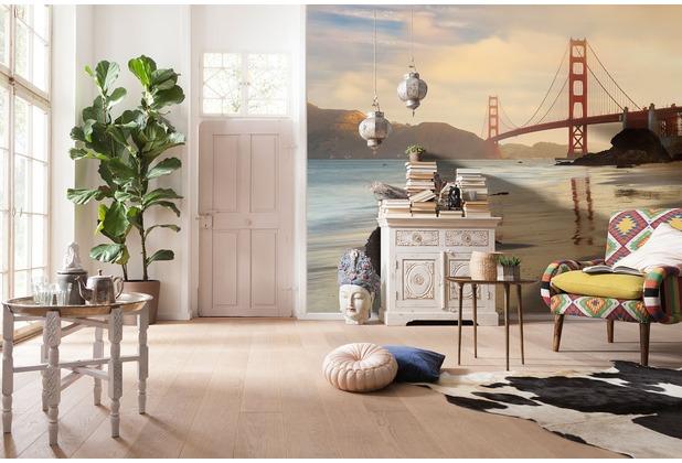 "Komar Digitaldruck Vliestapete \""Golden Gate\"" 400 x 250 cm"