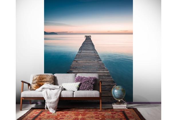 "Komar Digitaldruck Vliestapete \""Morning Breeze\"" 200 x 250 cm"